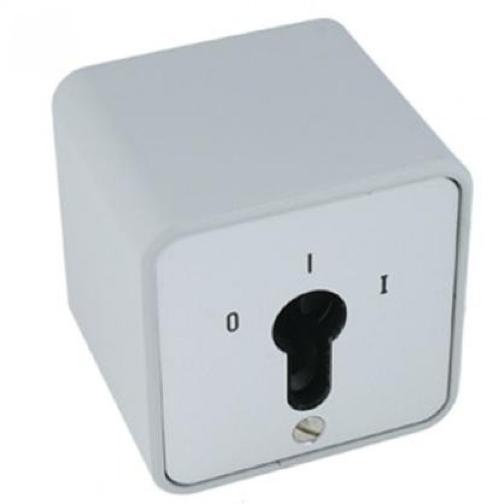 Geba nøglekontakt s-apz 1-1R/2 on/off