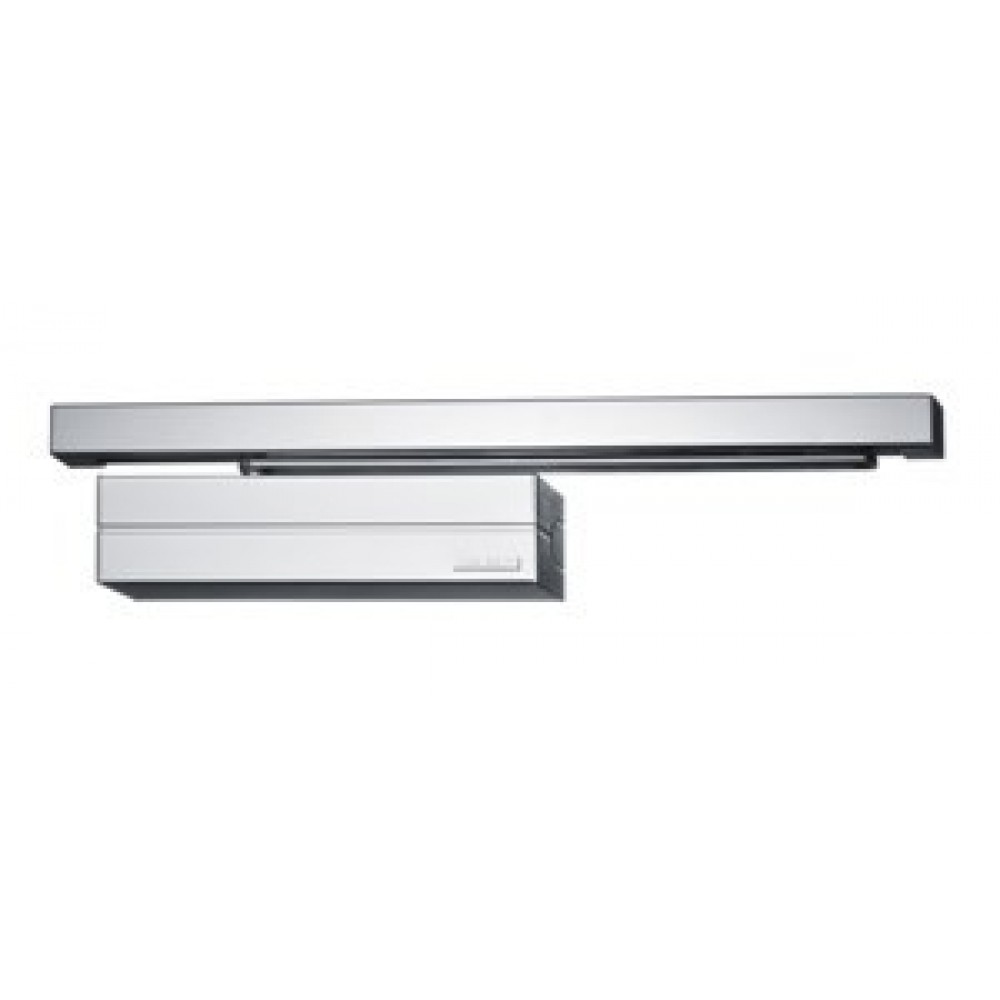 Abloy dørlukker DC700 komfort EN 3-6 G195 sølv u. skinne