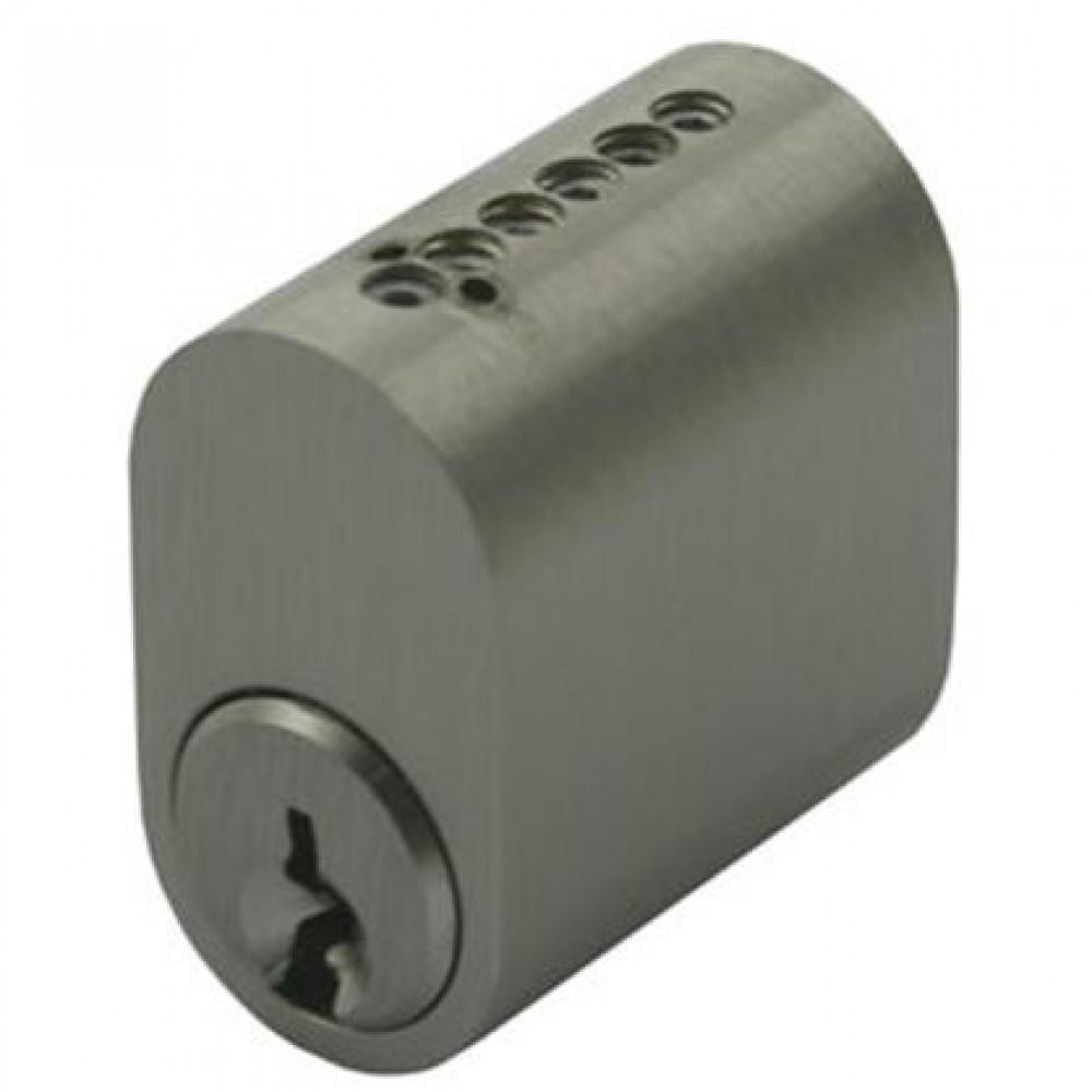 Lockit cylinder 7760 Oval rfl. m/ 3 nøgler