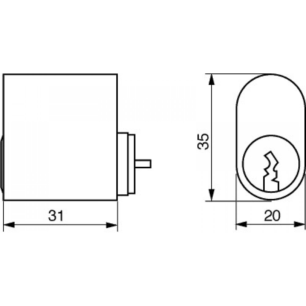 Ruko cylinder 1660-03