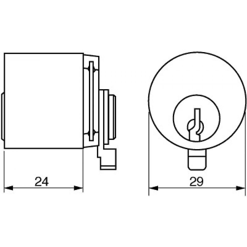 Ruko cylinder 1650-03
