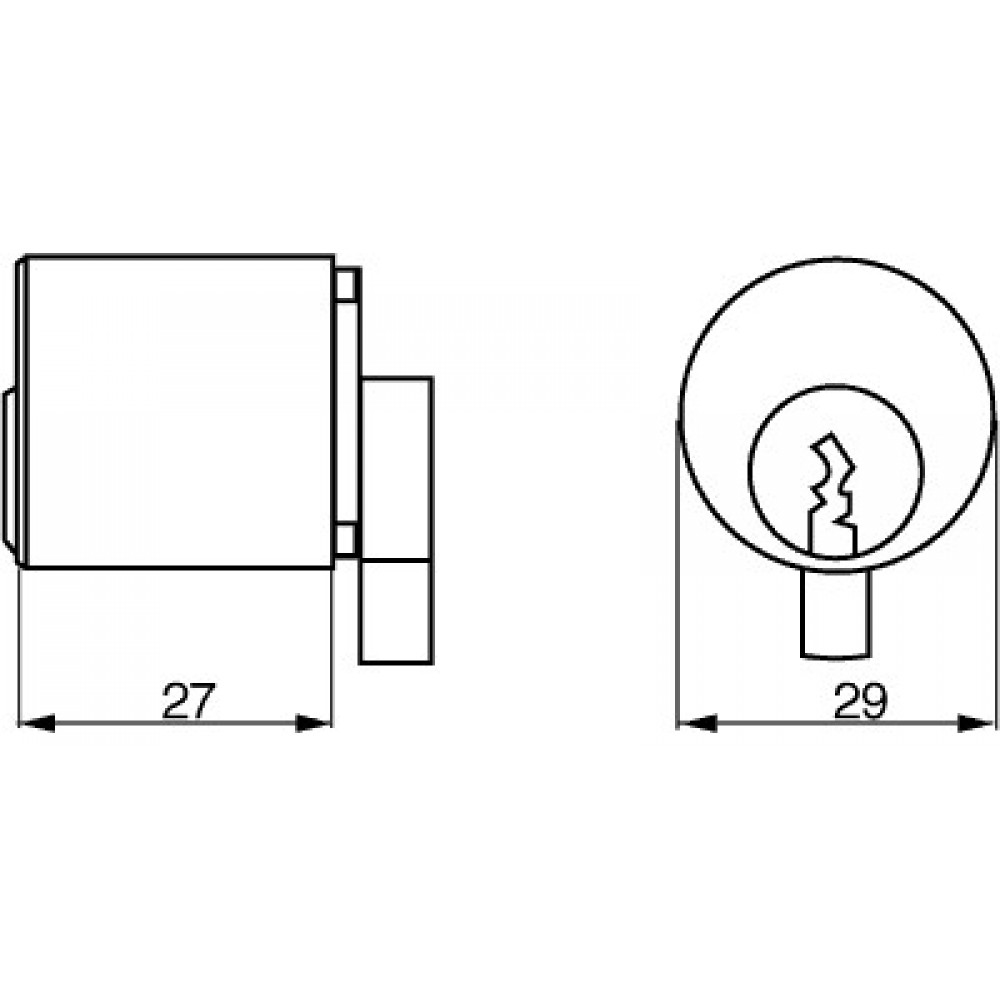 Ruko cylinder 2608 f sæt a2-02