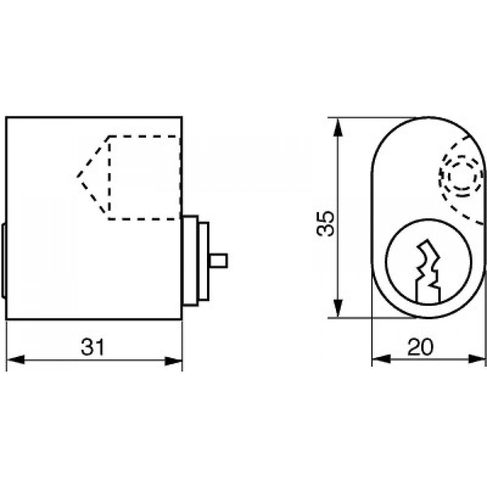 Ruko Cylinder RD1662 D1200-01