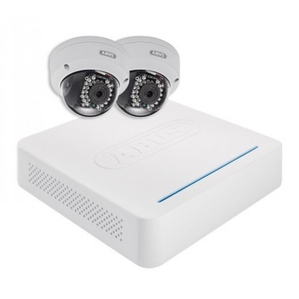 IP pakke med 2 dome kameraer