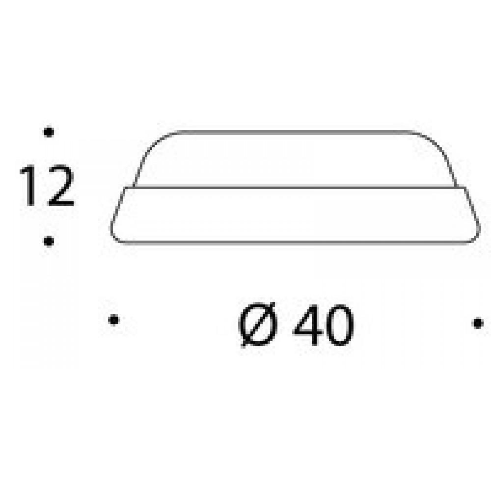 Randi Line 18 dørstop 7602.00 ø40mm-02