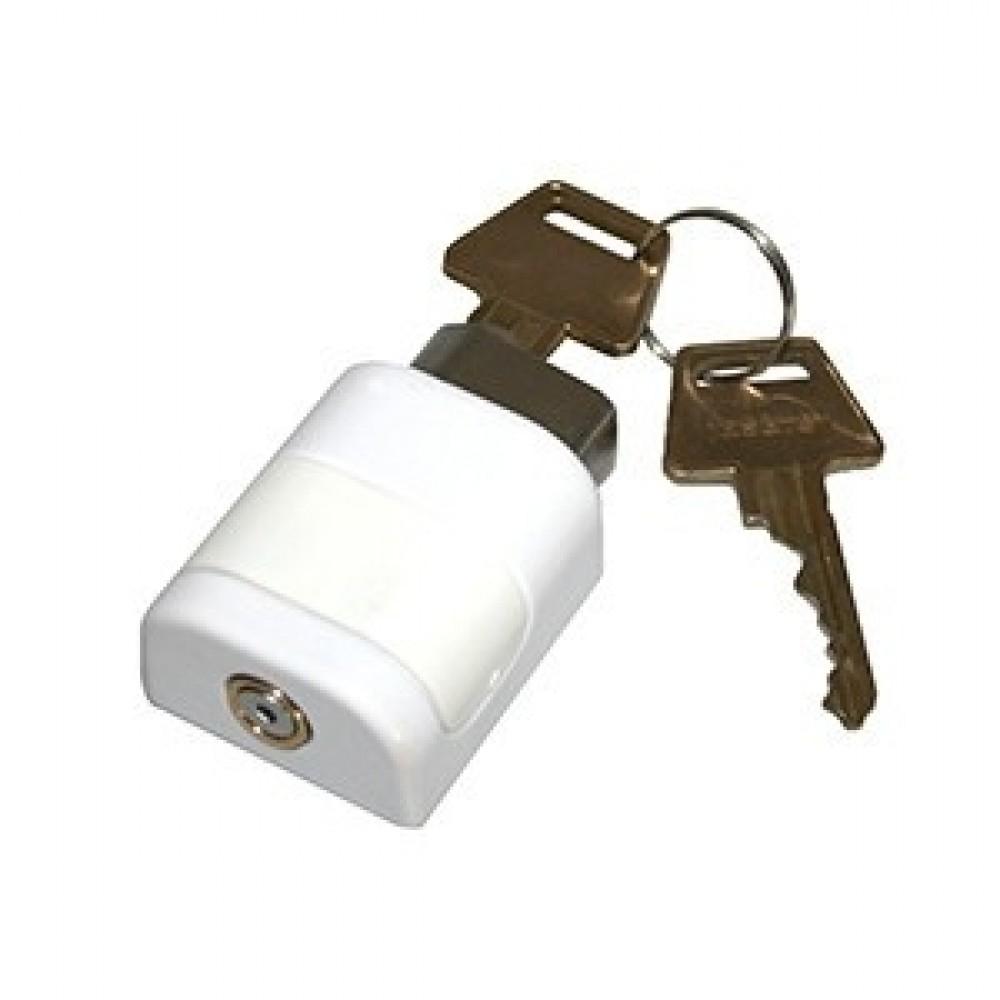 Lockit vindueslås m. cyl. og 2 nøgler
