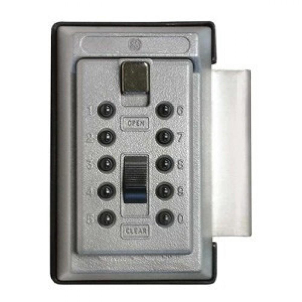 Keysafe nøgleboks 1017 grå m/kode + beslag