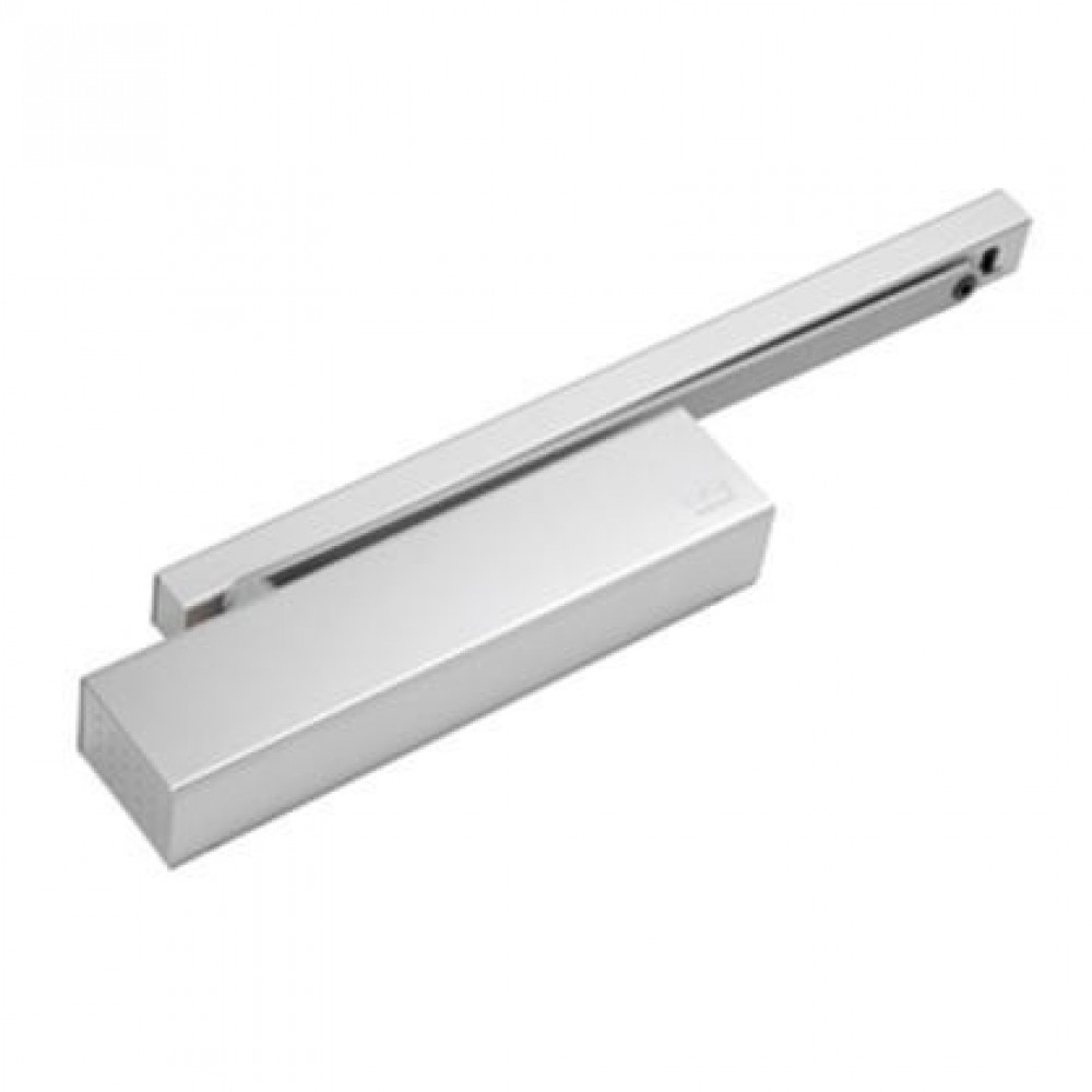 Dorma dørpumpe TS93G 2-5 hvid RAL 9010 u/skinne