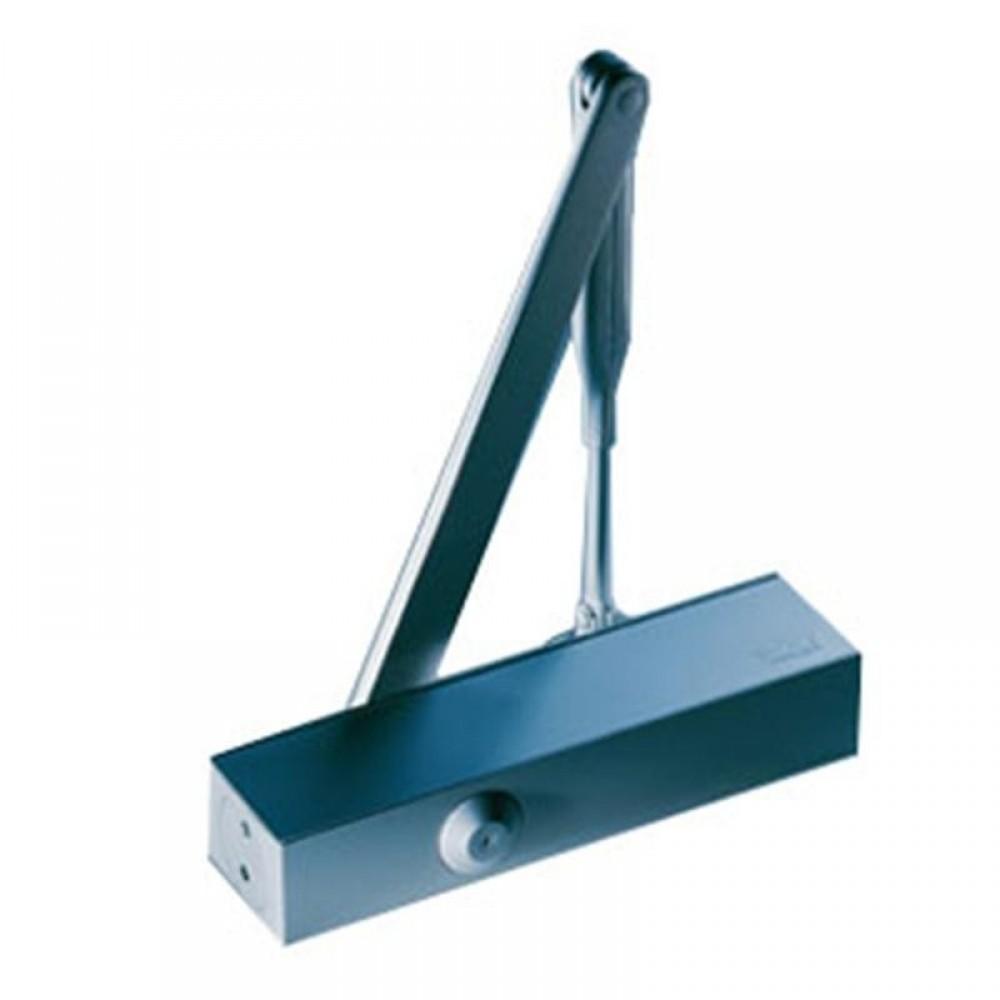Dorma dørpumpe TS73 2-4 sølv m/arm