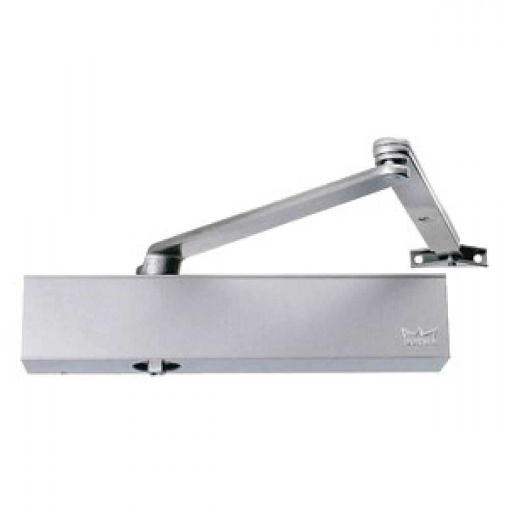 Dorma dørpumpe TS83 3-6 hvid m/arm