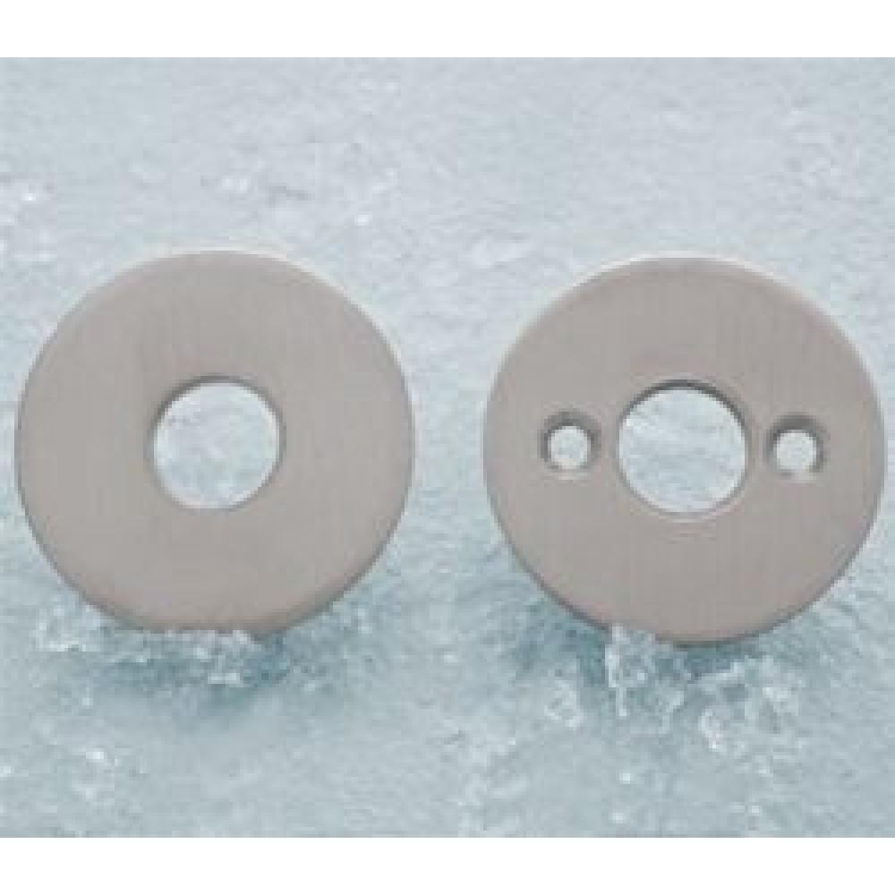 Rosetter til dørgreb c:30mm inkl. M4x75mm skruer