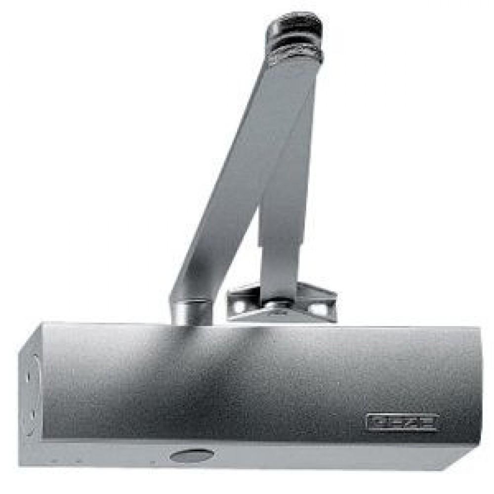 Geze dørpumpe ts2000 sølv m/arm 2-5-31
