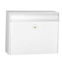 Mefa postkasse Classic 100 hvid med Ruko lås-20