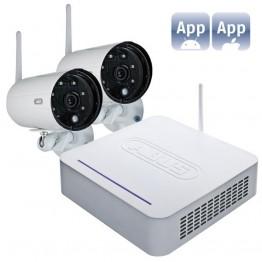 Trådløst overvågningssæt m/2 kameraer-20