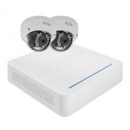 IP pakke med 2 dome kameraer-20