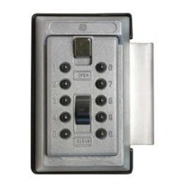 Keysafe nøgleboks 1017 grå m/kode + beslag-20