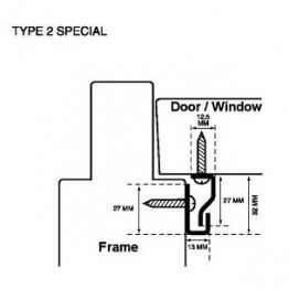 Secustrip hvid type 2-20