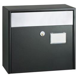 Mefa postkasse 900 Etude sort m/rsf. klap-20
