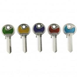 Farvede 5 stift nøgler (Ikke skåret)-20