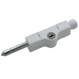 Securi boltdørlås mc82 l.102 hvid-20