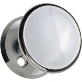 Ruko dørknop 496 Blank krom-20