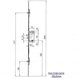 Fix stanglås 2150 C474-20