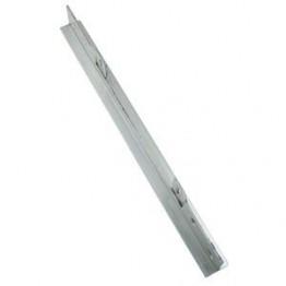 Lockit T-jern 1453 stål 400x31x35x3.0mm.-20