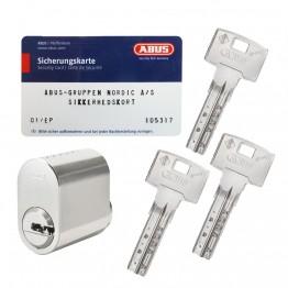Abus Bravus oval cylinder m/3 nøgler + kort-20