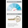 Ruko vindueslås RG1680, Garant Plus u/sikkerhedskort og nøgler